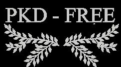 Gatos libres de PKD, logo
